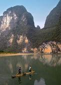Li river - guilin - kina — Stockfoto
