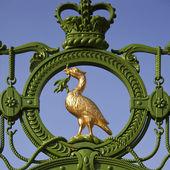 Liver Bird symbol of Liverpool - England. — Stock Photo