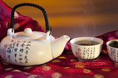 Chinese Green Tea — Stock Photo