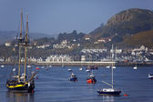 River Conwy - North Wales - United Kingdom — Stock Photo