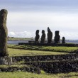 Moai - Easter Island - South Pacific — Stock Photo #17427333