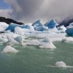 Eisberge - Largo grau - Patagonien - chile — Stockfoto
