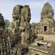 bayon temple - angkor wat - cambodia — Stock Photo