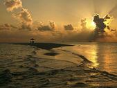 Luxury Vacation - The Maldives — Stock Photo