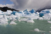 Icebergs - Largo Grey - Patagonia - Chile — Stock Photo