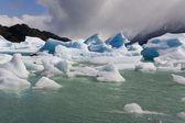 Isberg - largo grå - patagonien - chile — Stockfoto