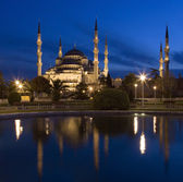 Blue Mosque - Istanbul - Turkey. — Stock Photo