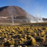 El Tatio Geysers in the Atacama Desert - Chile — Stock Photo