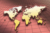 Map of the World — Stock Photo