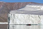 -scoresbysund - lodowej grenlandii — Zdjęcie stockowe
