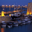 Kyrenia Harbor - Turkish Cyprus — Stock Photo #17445279