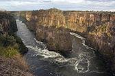 Zambezi River - Africa — Stock Photo