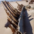Shipwreck - Skeleton Coast - Namibia — Stock Photo #17457685