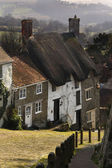 Zlatý kopec - shaftsbury - anglie — Stock fotografie