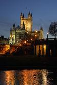 Bath Abbey - City of Bath - United Kingdom — Stock Photo