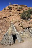 Namibian bushman dwelling - Namibia — Zdjęcie stockowe