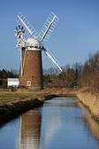 Horsey Windpump - Norfolk - England — Stock Photo