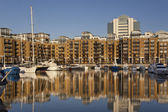 St. Katharines Dockyard - London - United Kingdom — Stock Photo