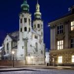 St Andrews Church - Krakow - Poland — Stock Photo