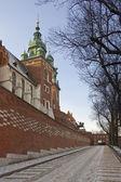 Wawal Castle - Krakow - Poland — Stock Photo