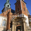 Krakow - Royal Cathedral - Wawel Hill - Poland — Stock Photo #17532881