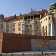 Krakow - Royal Castle - Wawel Hill - Poland — Stock Photo