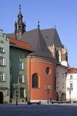 Rynek carré - krakow - pologne — Photo