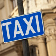 Stock Photo: Taxi Stand Sign