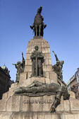 Grunwald Statue - Krakow - Poland — Stock Photo