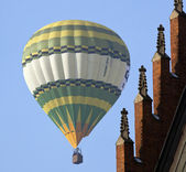 Hot Air Balloon - Krakow - Poland — Stock Photo