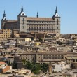 The Alcazar in Toledo in Spain - Stok fotoğraf