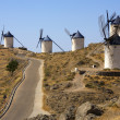 Windmills at Consuegra - La Mancha - Spain — Stock Photo