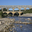 Pont du Gard - South of France — Stock Photo #17587139