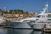 Cannes Old Town and Harbor - South of France — Stock Photo