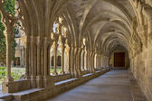 Poblet Monastery - Catalonia - Spain — Foto Stock