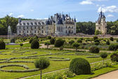 Chateau de chenonceau - údolí loiry - francie. — Stock fotografie