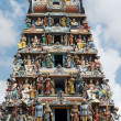 The Sri Mariamman Hindu Temple in Singapore — Stock Photo #17605563
