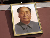 Chairman Mao - Beijing - China — Stock Photo