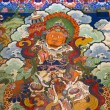 Tibet - Buddhist Art - Drepung Monastery — Stock Photo #17610237