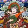Tibet - Buddhist Art - Drepung Monastery — Stock Photo #17610463