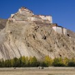 Stock Photo: Tibet - Gyantse Fortress