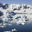 Paradise Bay - Antarctica — Stock Photo
