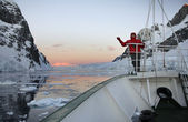 Lamaire kanal - antarktika — Stok fotoğraf