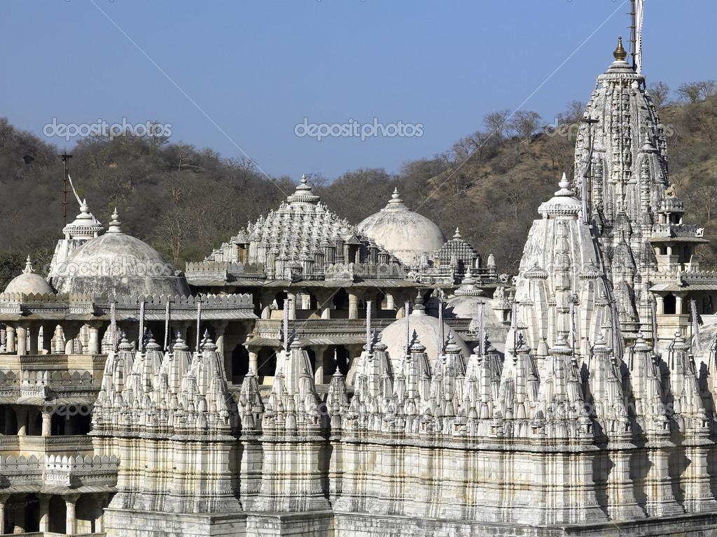 Ranakpur India  city pictures gallery : Adinath templo ranakpur india — Foto de stock © Steve Allen ...