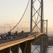 Forth Road Bridge - Scotland - Stock Photo