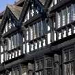 Stock Photo: Tudor buildings - Chester - England
