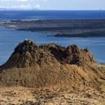 Volcanic landscape - Island of Bartolome - Galapagos Islands — Stock Photo #17625615
