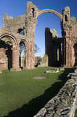 Lindisfarne Priory - Holy Island - England — Stock Photo