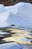 Franz Joseph Fjord - Greenland — Stock Photo
