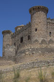 Belmonte Castle - La Mancha - Spain — Stock Photo